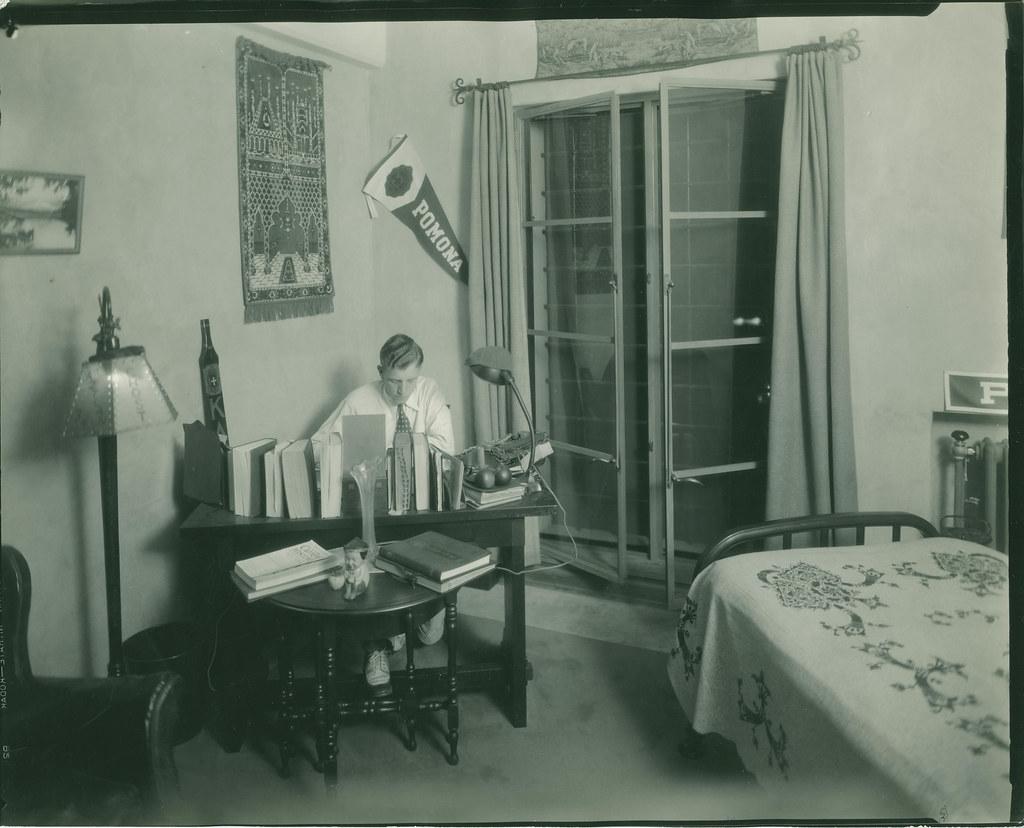 Dorm Room Inside Smiley Hall Pomona College Image Title