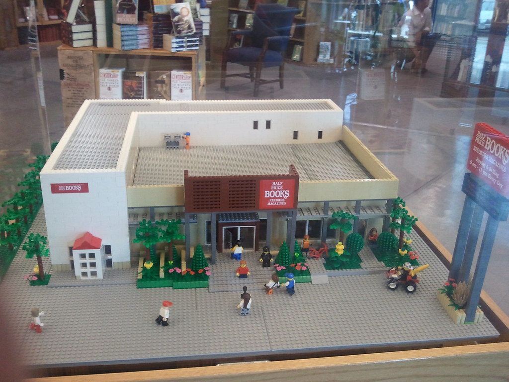 Half Price Books Dallas warehouse in LEGO   This is a LEGO m      Flickr     Half Price Books Dallas warehouse in LEGO   by GodBlessTexas