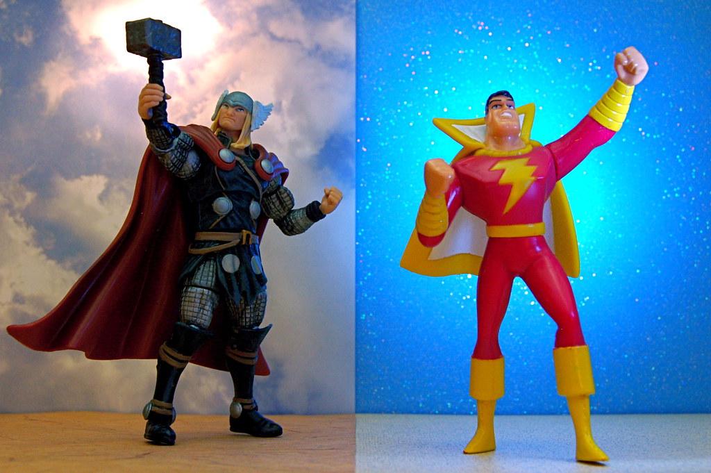 Thor Vs Captain Marvel 277365 Thor Mortal Man
