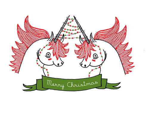 Unicorn Christmas Card For Sale At My Etsy Shop Www