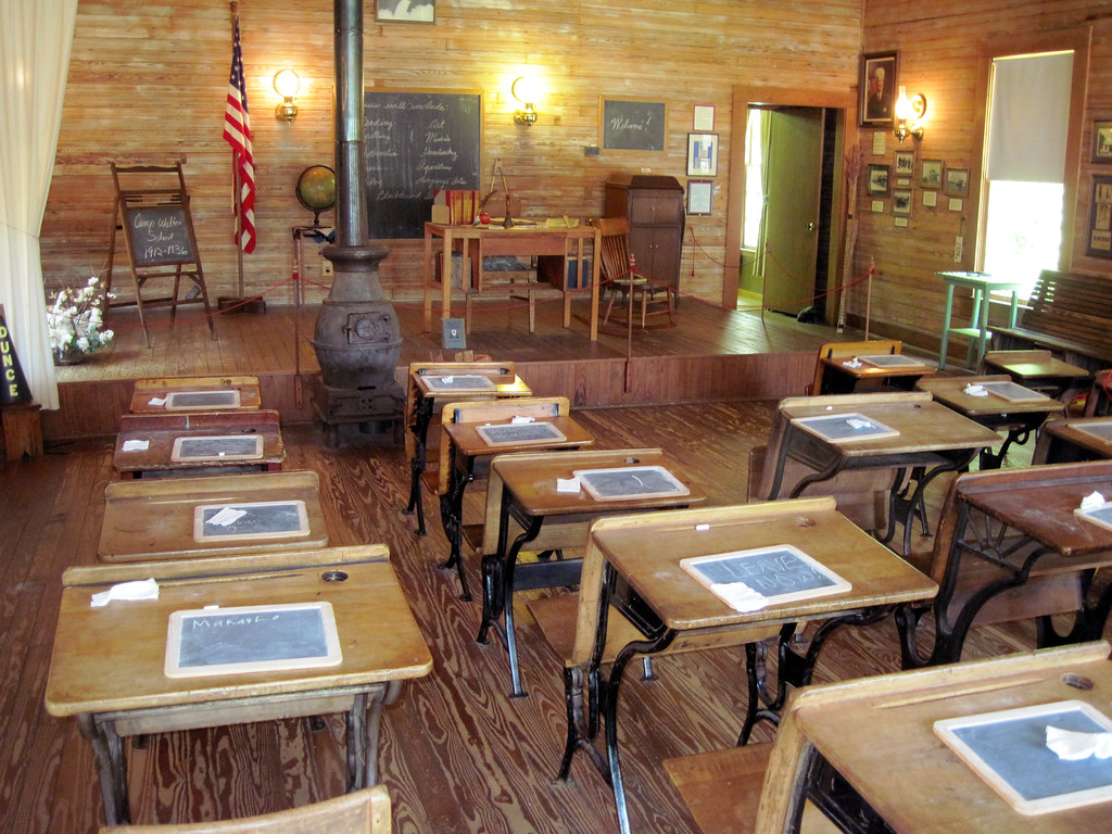 One Room School House In Fort Walton Beach Florida It
