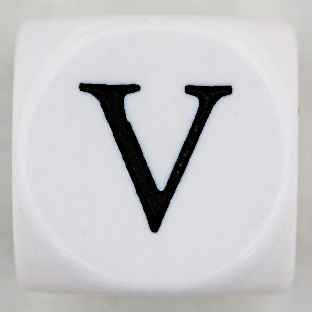 Roman Numeral V 5