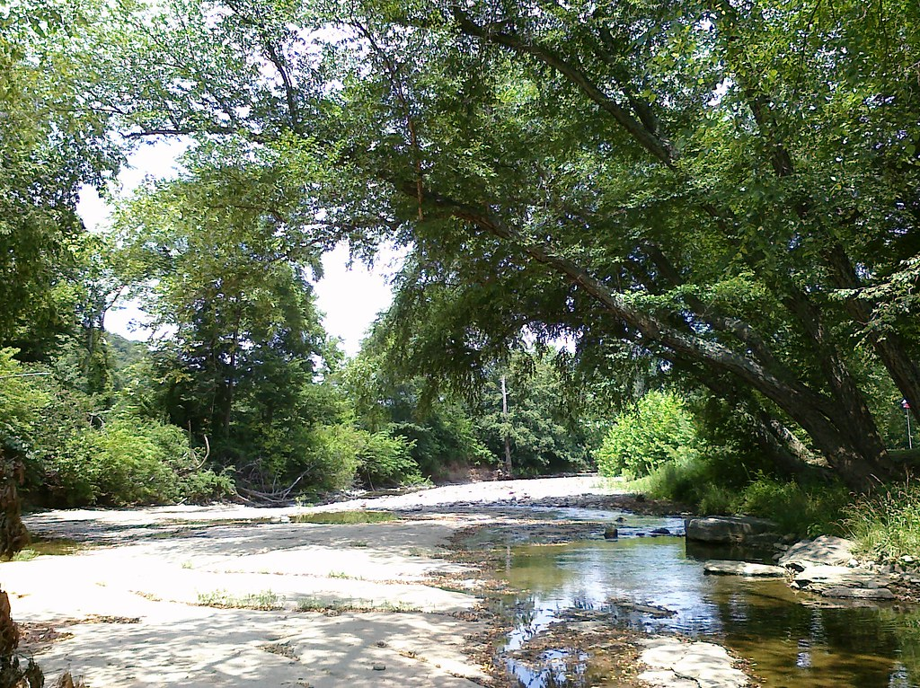 West Fork of the White River, Brentwood Rest Area, Hwy 71, Arkansas