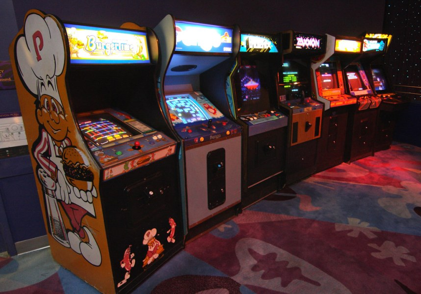 More Arcade Games   Additional arcade games at DisneyQuest i      Sam         More Arcade Games   by Sam Howzit