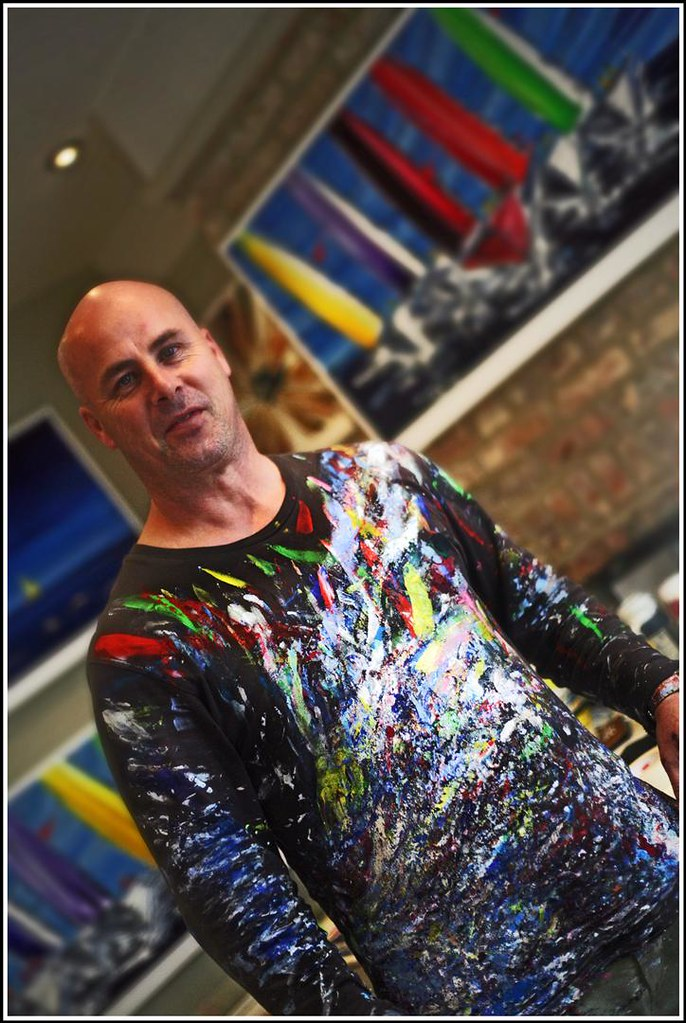 Stephen Lees Contemporary Artist Lymington Portrait