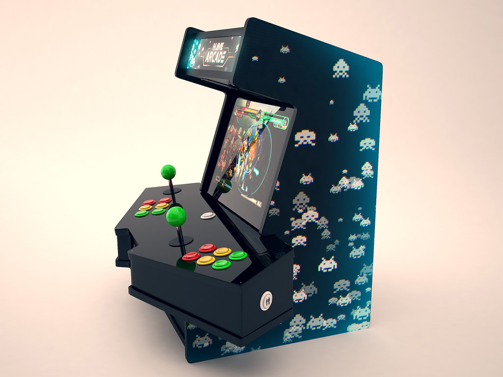 2 Players Mini Arcade Concept Inspired By Marcelo Souza