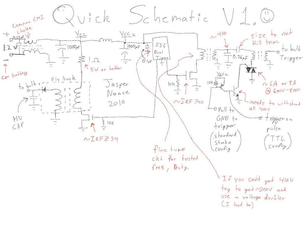 Flash Schematic