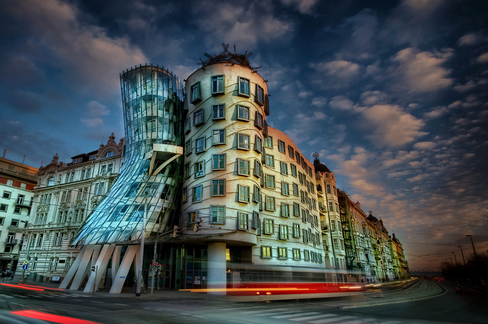 Dancing House Tancici Dum Prague Looks Better On