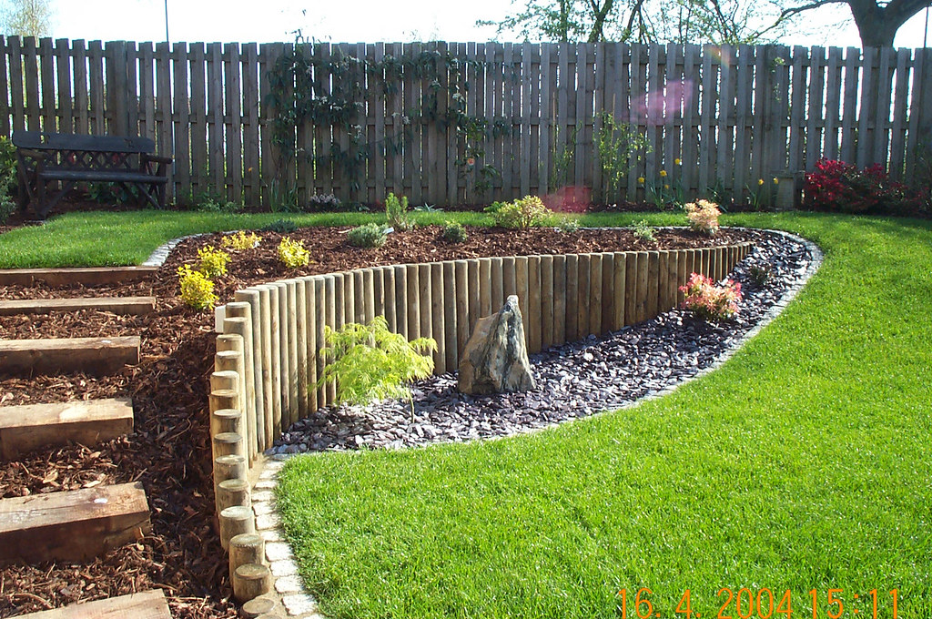 A sloping garden built by Wyld Landscapes | This garden ... on Steep Sloping Garden Ideas  id=22691
