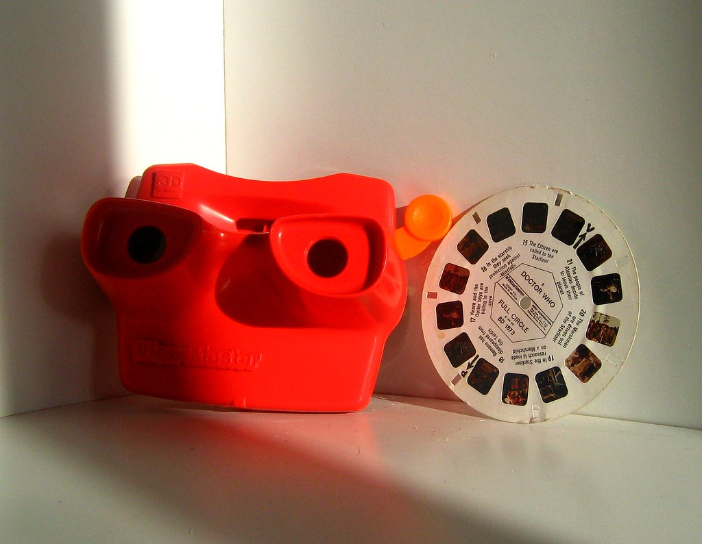 GAF View Master Model J And Doctor Who Disk The Model