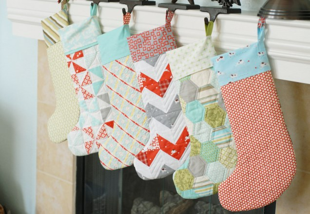 Image result for diy christmas stockings