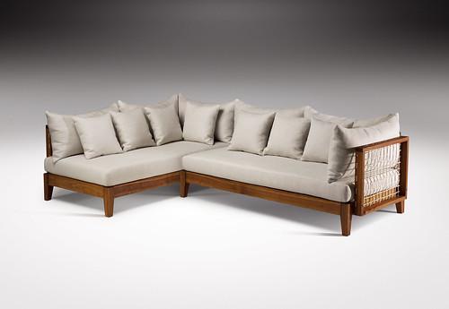 Riempie L Shape Couch Designed By Haldane Martin Photo J