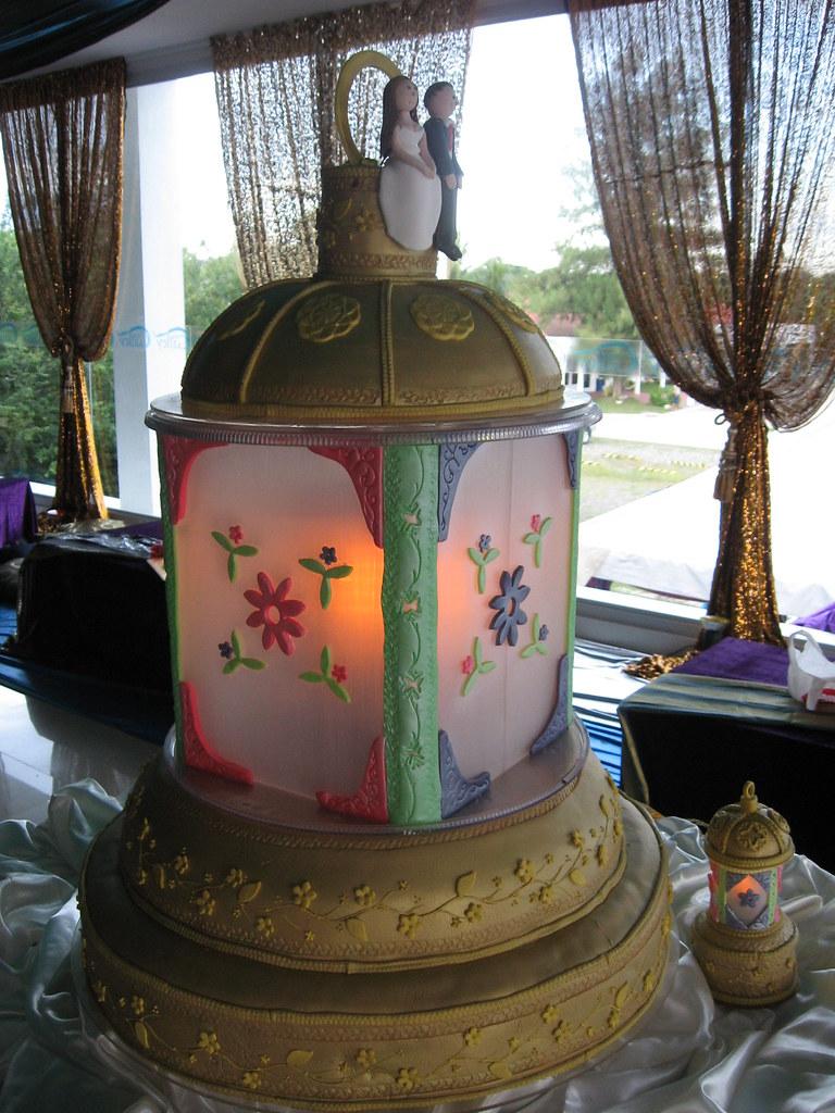 Moroccan Lantern Wedding Cake Liza Flickr