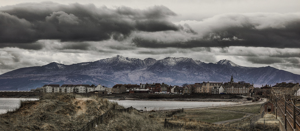 Saltcoats Scotland Updated I Took Some Time Editing And Ol Flickr