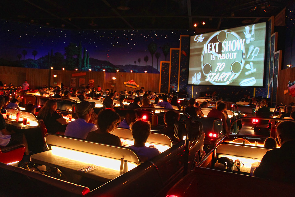 Sci Fi Dine In Theater Inspired By 1950s Drive Ins