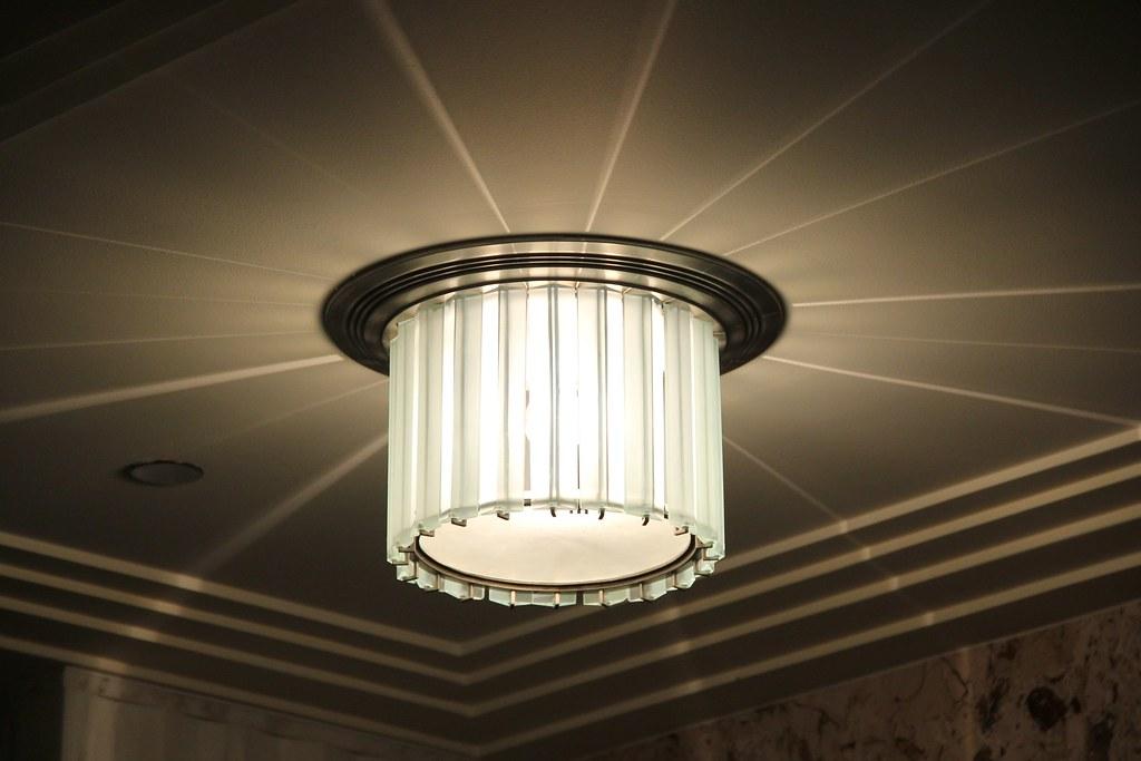 Art Deco Light Fixture 135 S La Salle St An Art Deco