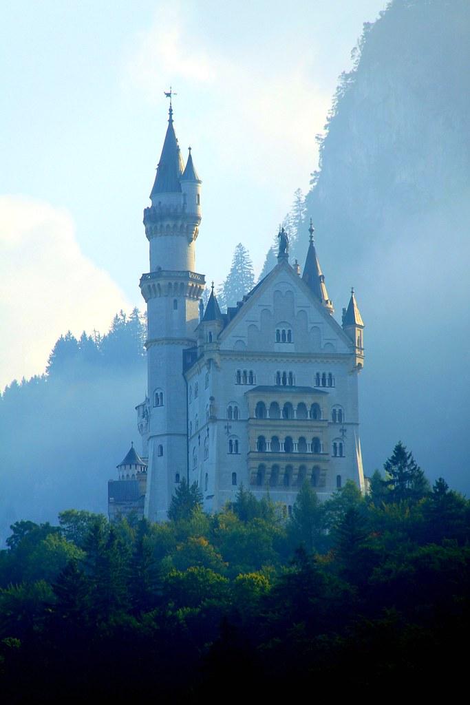 A Real Life Fairytale Castle Neuschwanstein Castle In