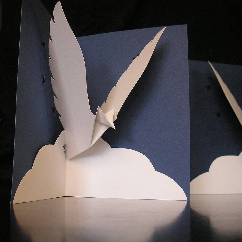 Peace Dove Pop Up Card Karin Flickr