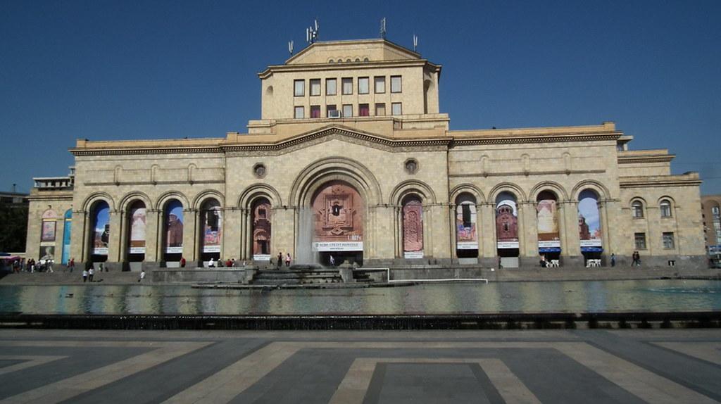 Museo Galeria Nacional Plaza de la República Yerevan Armenia 02