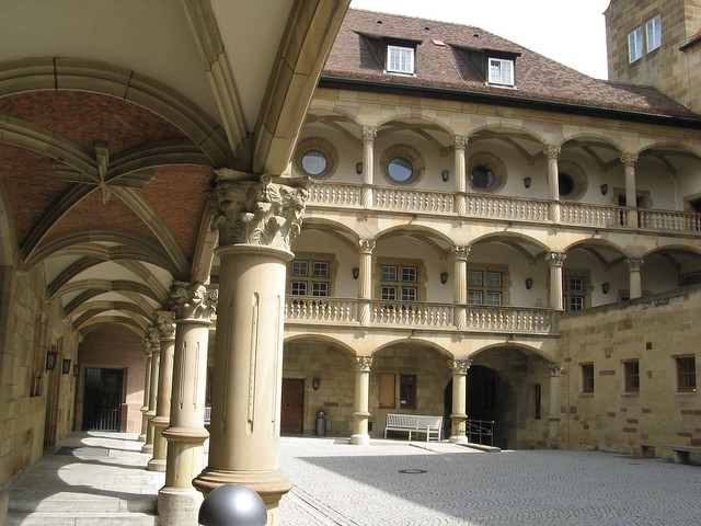 Stuttgart city center Altes Schloss