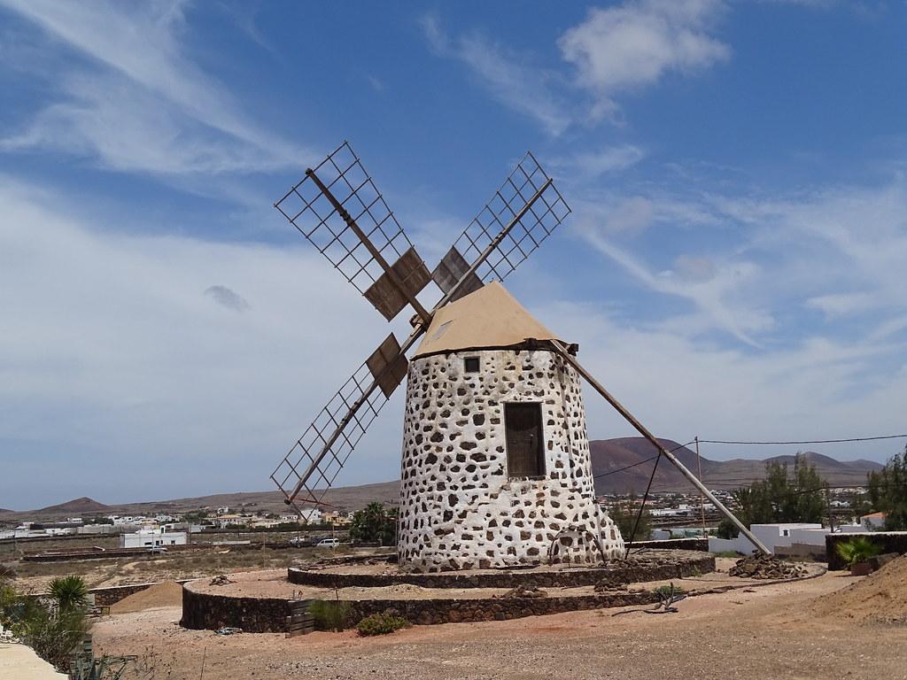 Lajares Molino Isla de Fuerteventura