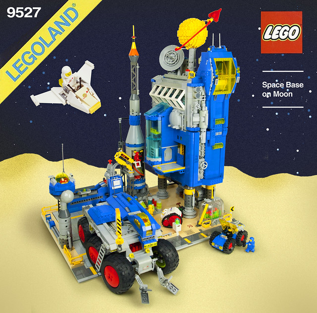 LEGO Classic Space 1979 Space Base on Earth