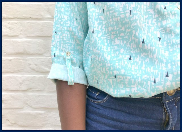 bellah blouse (close up)