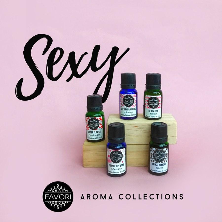 FAVORI Sexy Aroma Collection 02 Aroma Oils