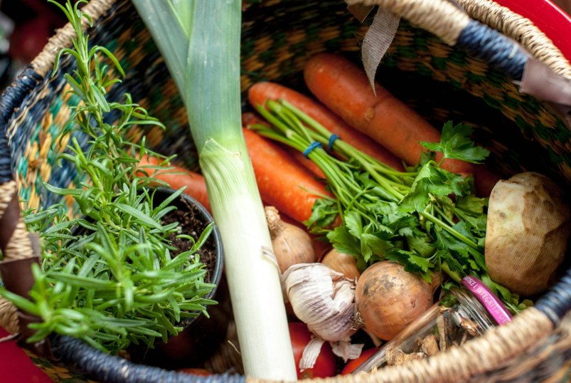 warzywa na rosół