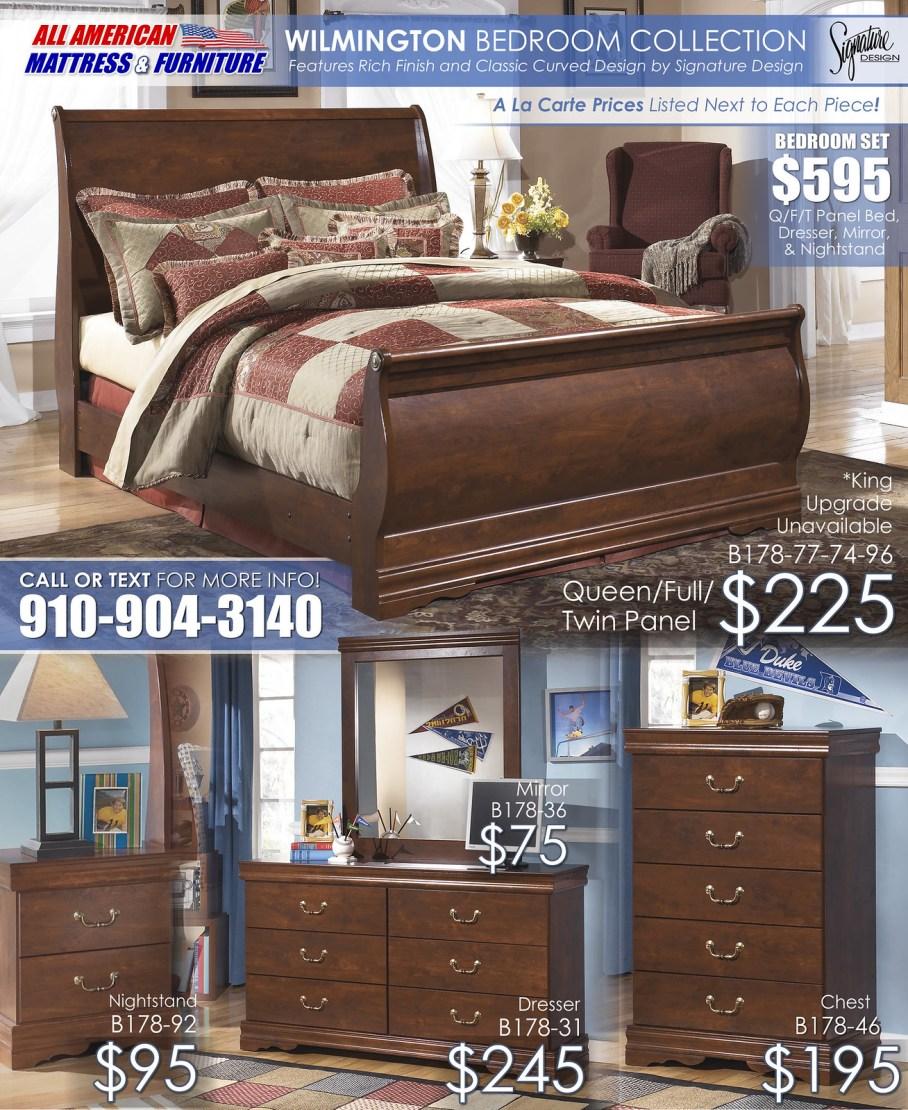 Wilmington Bedroom A La Carte