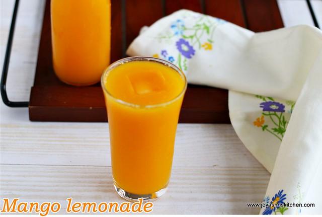 Mango- lemonade
