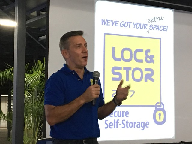 Sam Peterson, Loc&Store 24/7 Founder