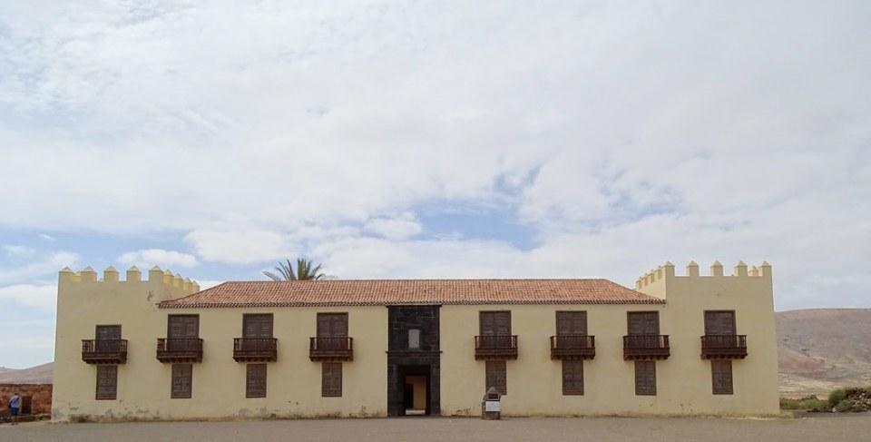 La Oliva Casa de los Coroneles isla de Fuerteventura