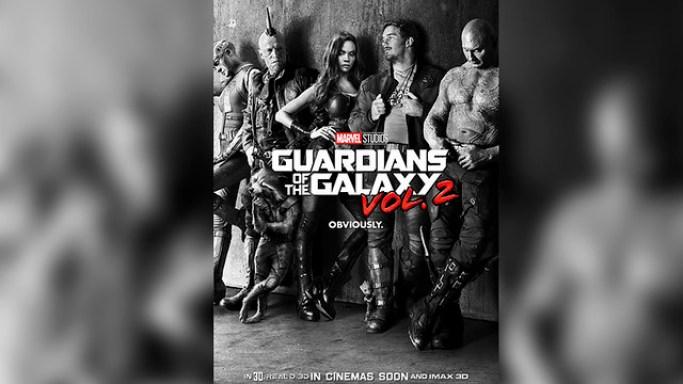Guardianes de la Galaxia Vol. 2 - Estreno de cine