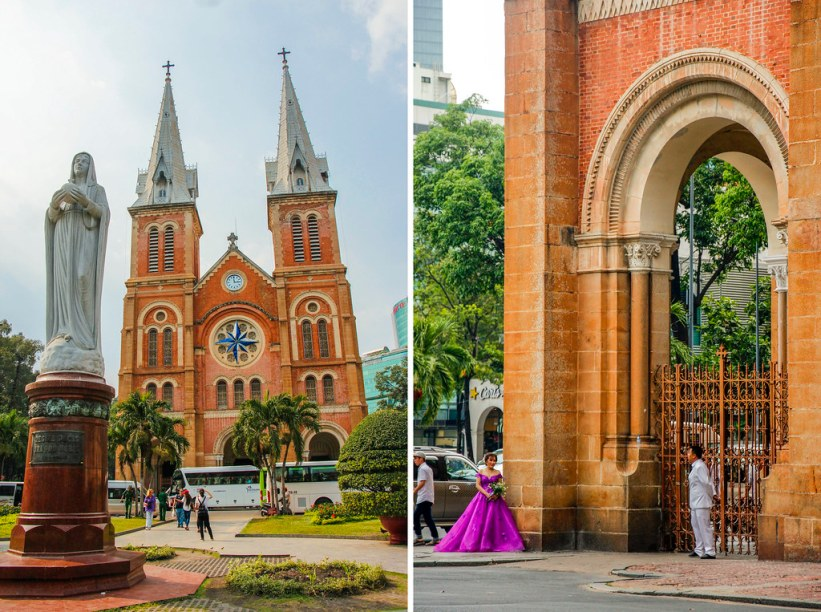 Notre Dame i Ho Chi Minh City - Saigon