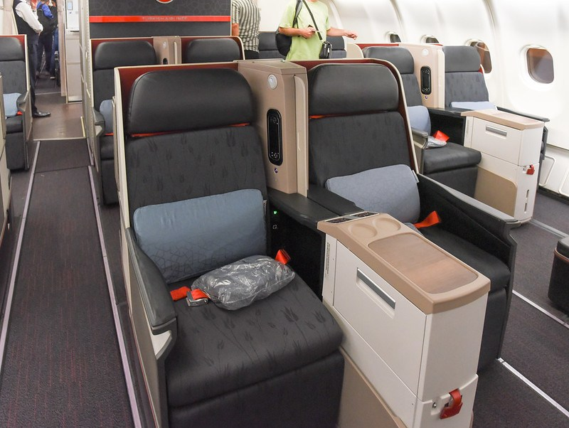 business class seats - turkish airlines