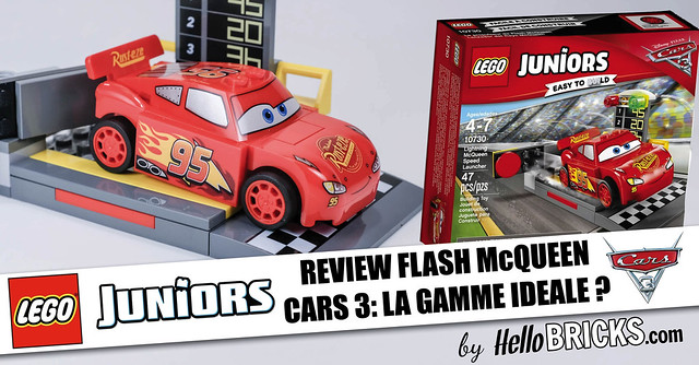 review lego 10730 cars 3 retour gagnant pour flash mcqueen hellobricks blog lego. Black Bedroom Furniture Sets. Home Design Ideas