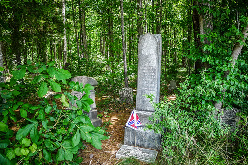 Old Stone Cemetery at Landsford Canal-002