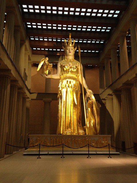 The Parthenon and Athena, Nashville TN
