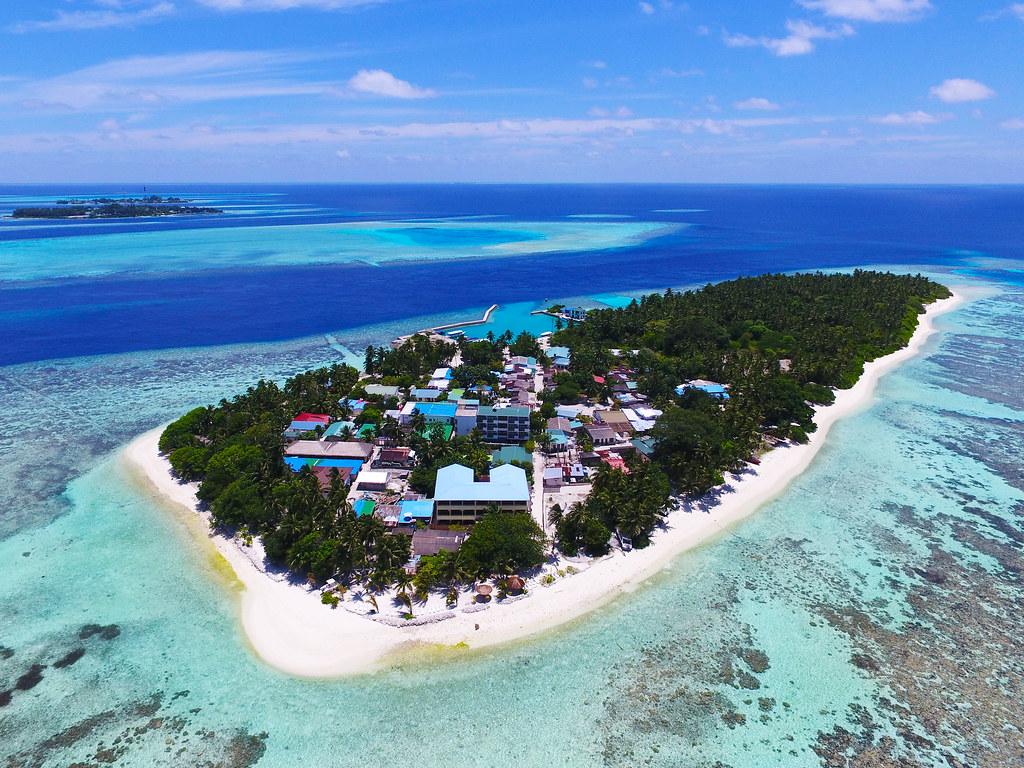 馬爾地夫蜜月 居民島