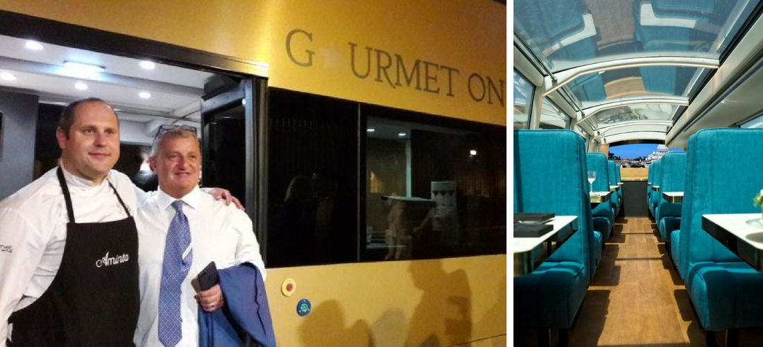 Drive me Tasting: ônibus gourmet em Roma