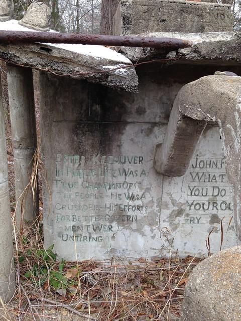 E.T. Wickham Stone Park, Palmyra TN