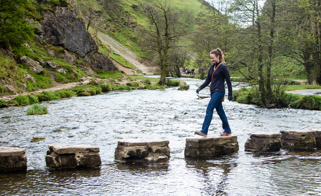 Dovedale Stepping Stones