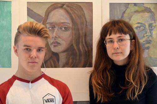 Oscar Larson och Hanna Emilsson