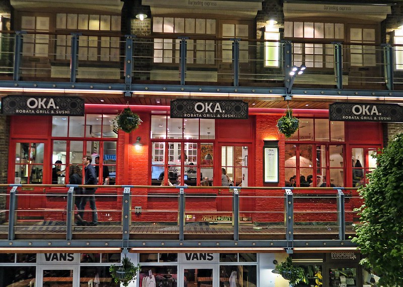 Oka Restaurant, Kingly Court