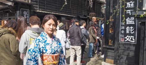 【日本】。角館美食:櫻之里[比内地雞親子丼]@近武家屋敷通~秋田縣地雞料理