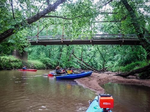 Patterson Steel Truss Bridge on Long Cane Creek