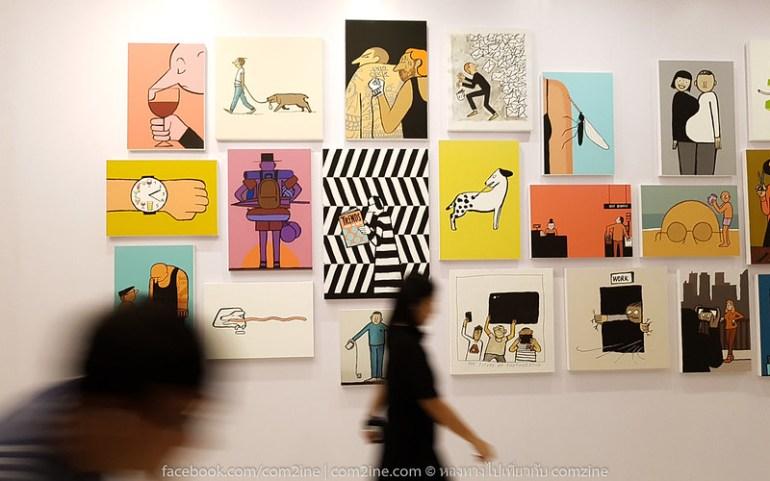 9ฌอง จูเลียง - The People งานศิลป์สนุก สะท้อนยุคโมเดิร์นไลฟ์