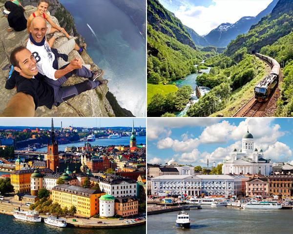 Ruta por el norte de Europa y los países escandinavos en 2 semanas