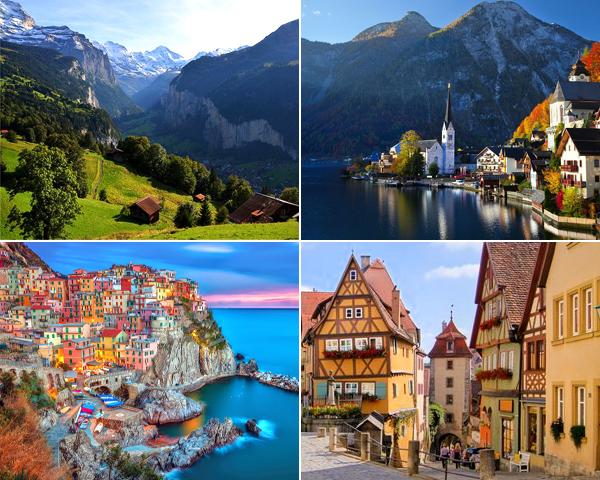 Itinerario de 10 días por Europa y sus rincones más desconocidos